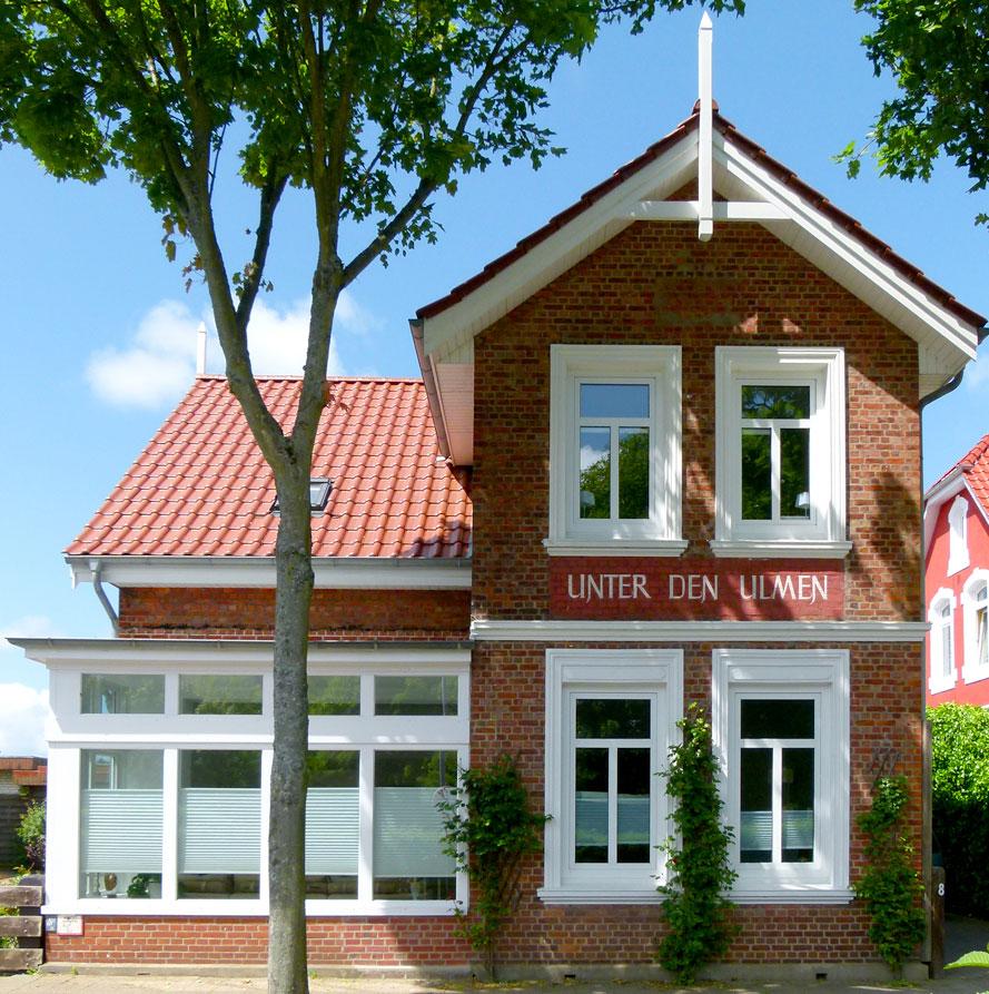 Frauenferienwohnung im Ulmenhus auf der Nordseeinsel Föhr